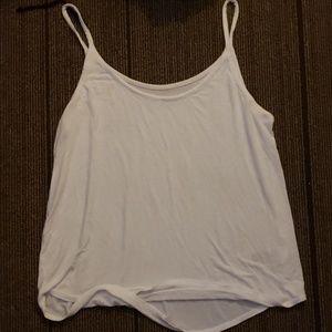 Womens white tank top